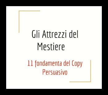 Seminario copywriting persuasivo