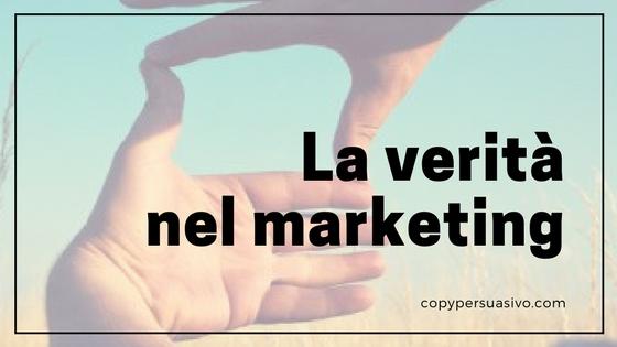 Esiste la verità nel marketing?
