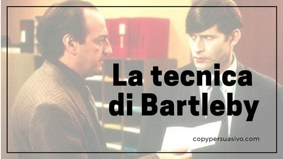 La tecnica di Bartleby e altri modi per proteggere i tuoi interessi