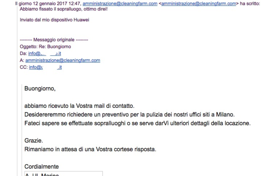 andrea lisi copywriter email marketing web marketing lead generation vendita risposta diretta