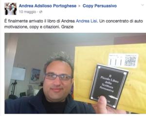 brand andrea lisi recensione andrea portoghese
