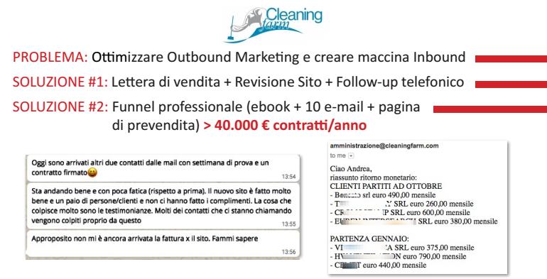 copywriting persuasivo esempio, campagna di web marketing per trovare clienti online, lettera di vendita esempio, trovare clienti online azienda di pulizie, ditta di pulizie, marketing impresa di pulizie
