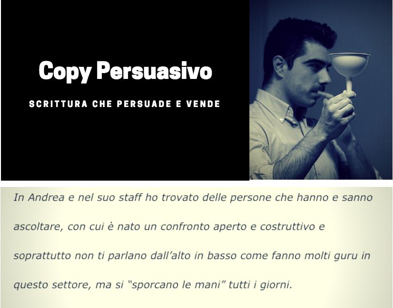 testimonianze clienti copywriter