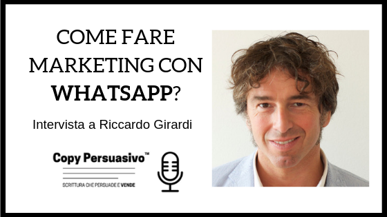 riccardo girardi whatsapp marketing