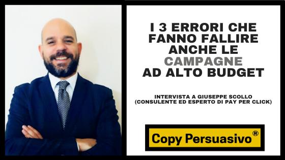 campagne ppc - giuseppe scollo - copy persuasivo podcast