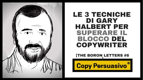 gary halbert boron letters capitolo 7