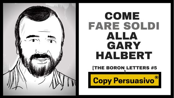 gary halbert boron letters capitolo 5