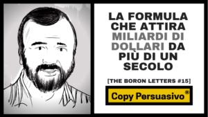 gary halbert boron letters italiano copywriting persuasivo