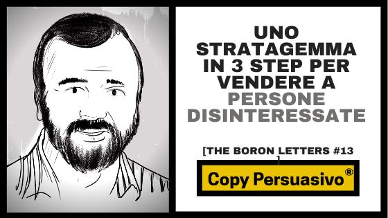 gary halbert boron letters capitolo 13