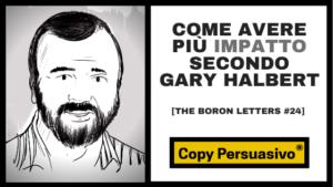 gary halbert - impatto