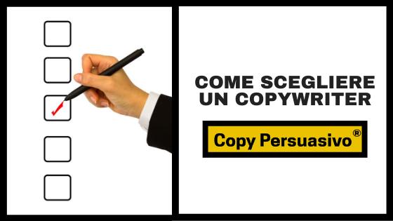 come scegliere un copywriter