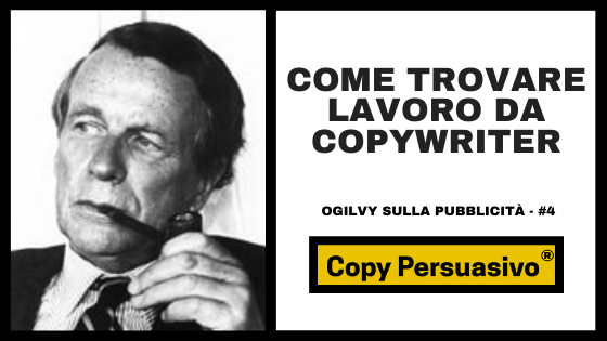 trovare lavoro copywriter