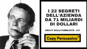 Ogilvy, David Ogilvy, Ogilvy on Advertising, Ogilvy la pubblicità, Ogilvy sulla pubblicità