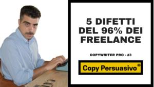 5 difetti del 96% dei freelance